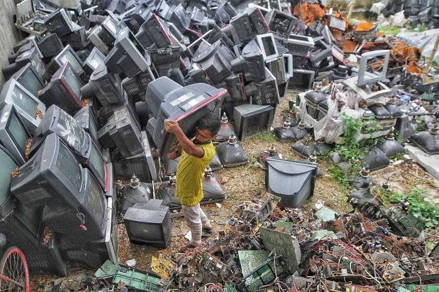 Los residuos electrónicos, una enorme amenaza para el planeta