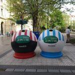 Ecovidrio homenajea al Athletic Club y a la Real Sociedad de cara al histórico derbi vasco en la final de la Copa del Rey