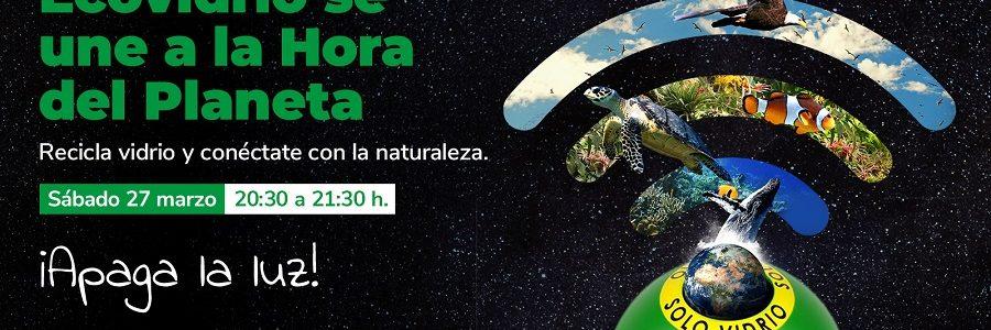 Ecovidrio se suma a La Hora del Planeta 2021, el mayor movimiento mundial contra el cambio climático y la pérdida de biodiversidad