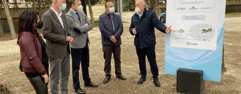 Murcia utilizará aguas freáticas regeneradas para riego urbano