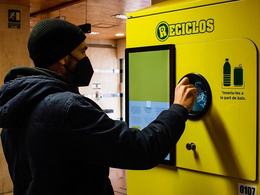 Máquina de Reciclos en Valencia