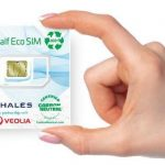 Thales y Veolia desarrollan una tarjeta SIM de plástico reciclado