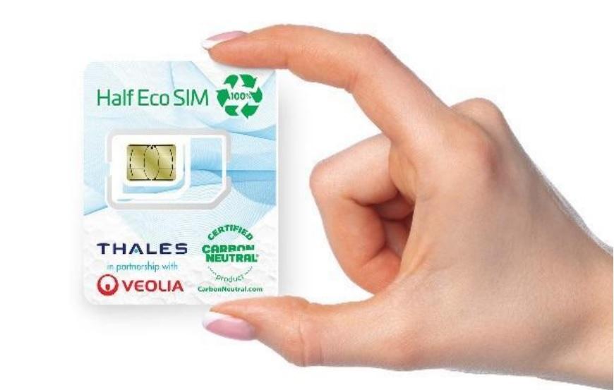 Veolia y Thales desarrollan una tarjeta SIM de plástico reciclado