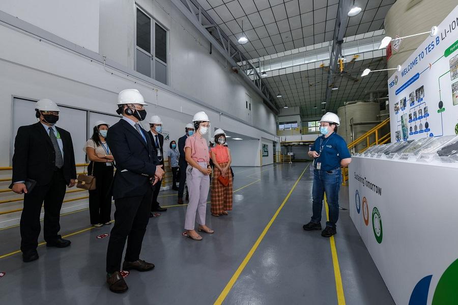 Nueva planta de reciclaje de baterías de litio en Singapur