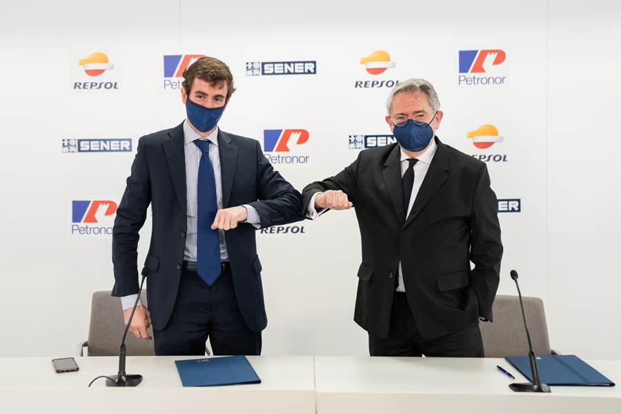 Acuerdo entre Petronor y Sener para poner en marcha una planta de electrolizadores