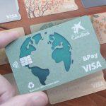 CaixaBank usará materiales reciclados en sus nuevas tarjetas bancarias