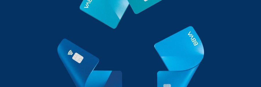 BBVA recicla 85.000 tarjetas de crédito en tres meses