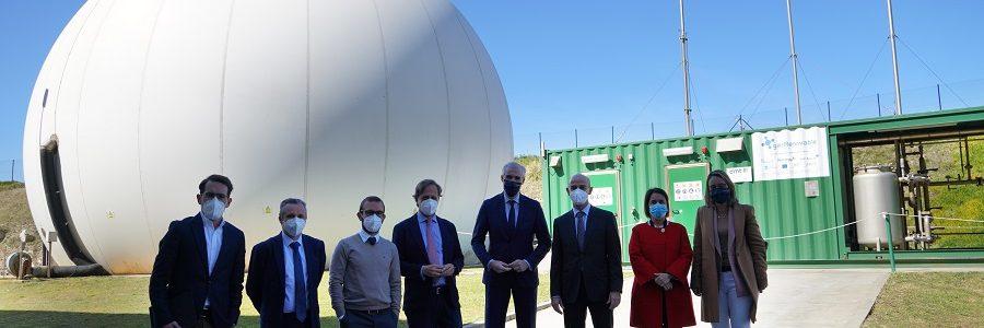 Presentada la Unidad Mixta de Gas Renovable que investigará la producción de hidrógeno verde a partir de aguas residuales