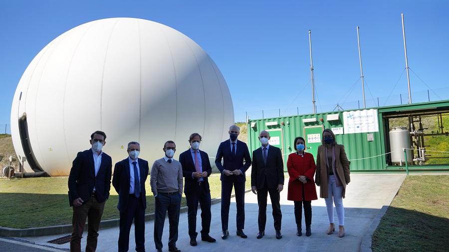La unidad Mixta de Gas Renovable investigará la obtención de hidrógeno verde a partir de aguas residuales