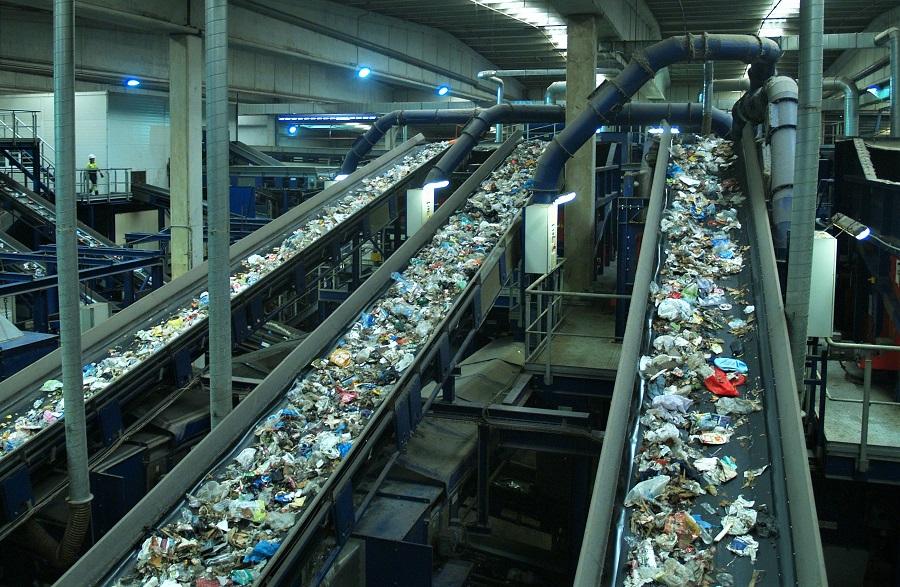 Planta de tratamiento de residuos urbanos