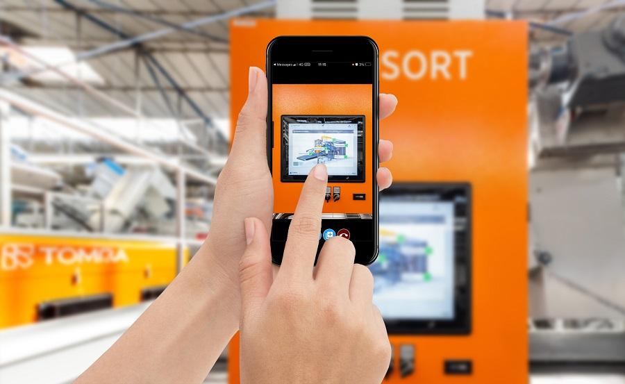 TOMRA Sorting Recycling lanza Care Visual Assist, una nueva herramienta de asistencia remota