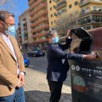 Comienza la instalación masiva de contenedores para la recogida de biorresiduos en Palma