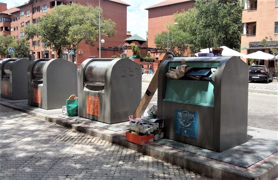 Un informe denuncia la ineficacia del modelo de gestión de residuos en la Comunidad de Madrid