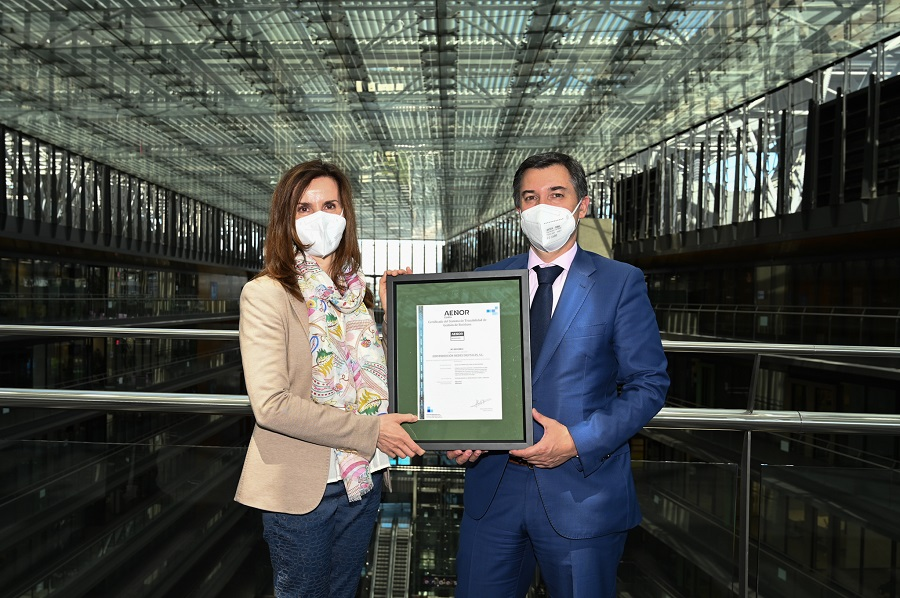 AENOR otorga el certificado Residuo Cero a Endesa