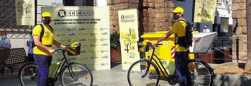 El sistema de reciclaje con incentivo RECICLOS llega a Mérida