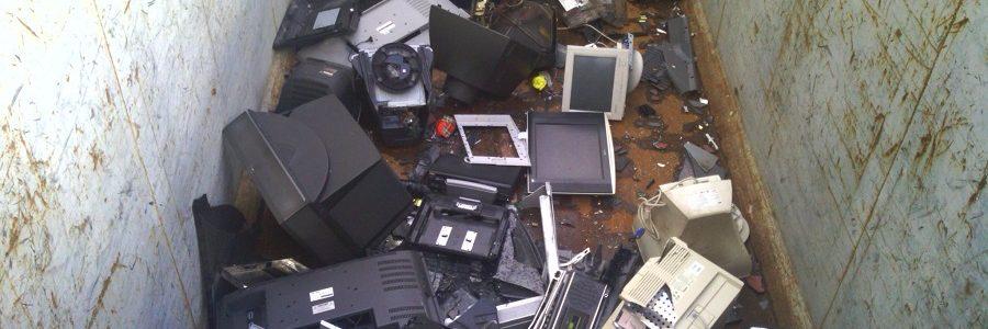 El incumplimiento normativo y las actividades ilegales lastran el reciclaje de residuos electrónicos en la UE