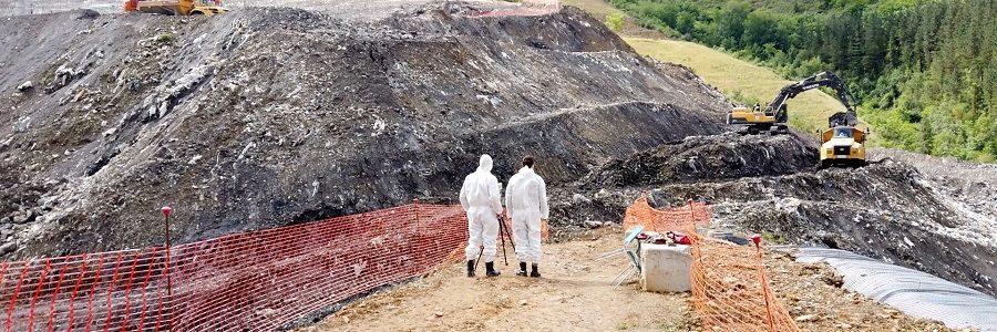 Finaliza el operativo de búsqueda en el vertedero de Zaldibar sin hallar el cuerpo de Joaquín Beltrán
