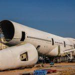 Reciclaje químico de composites de aviones y aerogeneradores para su uso en la industria cerámica
