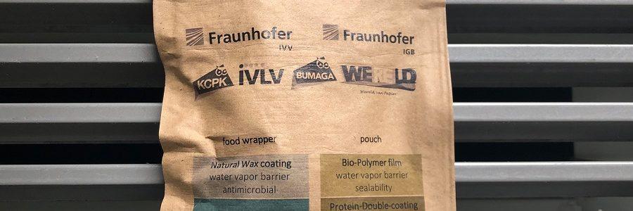 Fraunhofer desarrolla recubrimientos de papel bioactivos para reemplazar el plástico en envases de alimentos