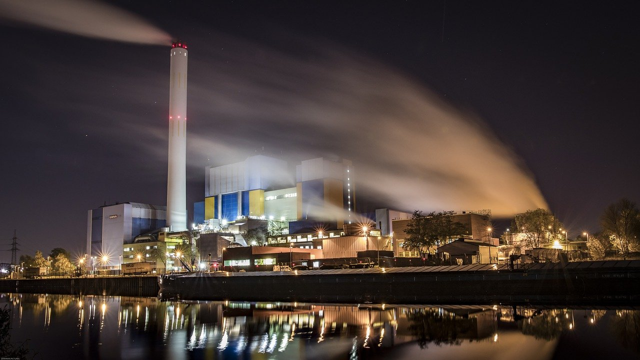 Plpanta de incineración de residuos