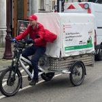 Ámsterdam prueba la recogida de residuos con bicicletas eléctricas