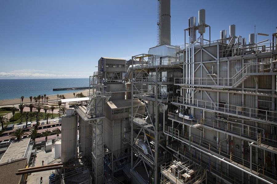 Planta de valorización energética de residuos de Sant Adrià del Besòs