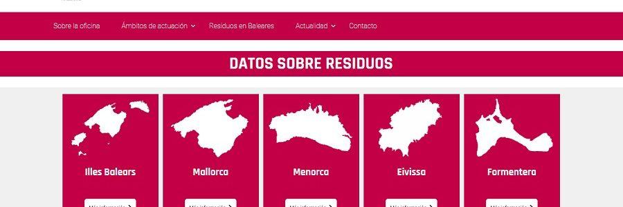 Una nueva web con toda la información sobre prevención de residuos en Baleares