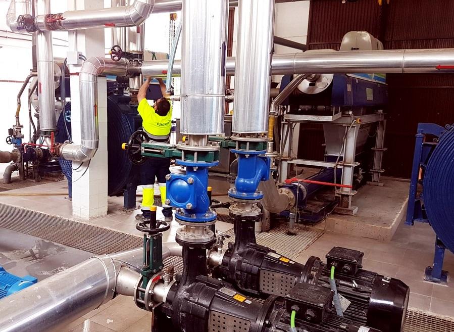 Nuevo proceso más eficiente para el tratamiento de lodos de EDAR