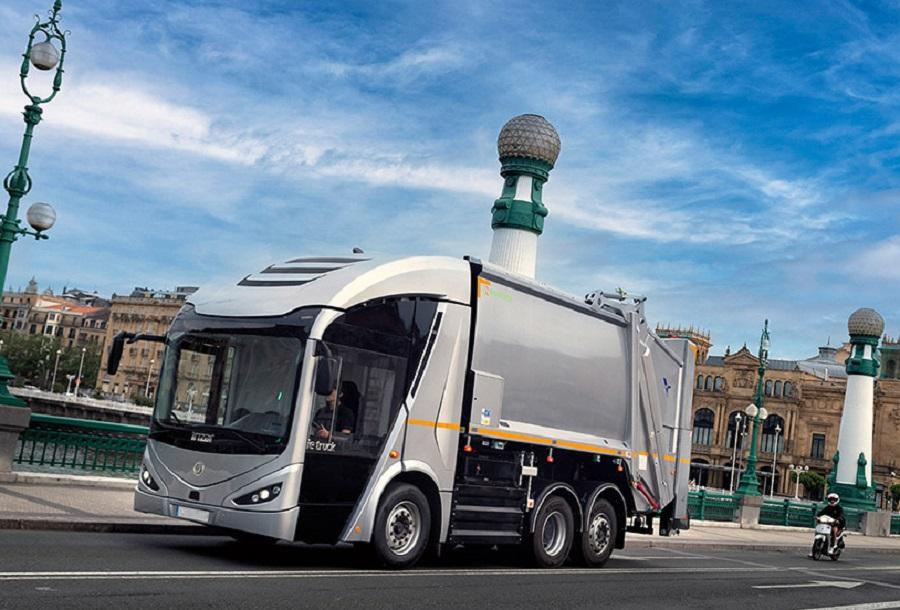 Camión eléctrico de recogida de residuos de Irizar