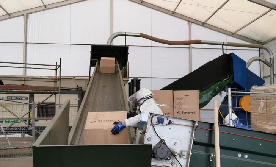 Planta de gestión de residuos sanitarios de Sogama