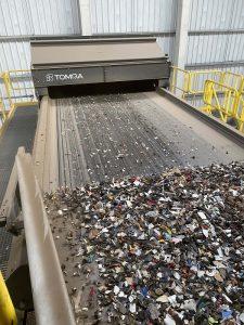 Tecnología TOMRA para el reciclaje en Interecycling