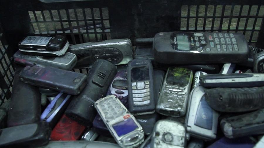 teléfonos móviles fuera de uso