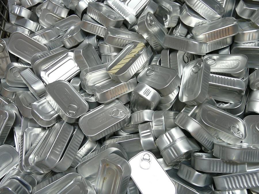 Nueva tasa récord de reciclaje de envases de acero en Europa