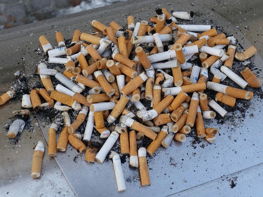 colillas de cigarros