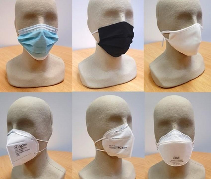 El CSIC descarta riesgo para la salud por la liberación de plastificantes de las mascarillas