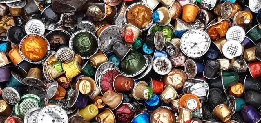 residuos de cápsulas de café