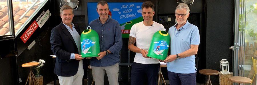 Ecovidrio y Unipublic se unen para celebrar La Vuelta más sostenible de su historia