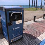 Málaga instala cien papeleras compactadoras activadas con energía solar
