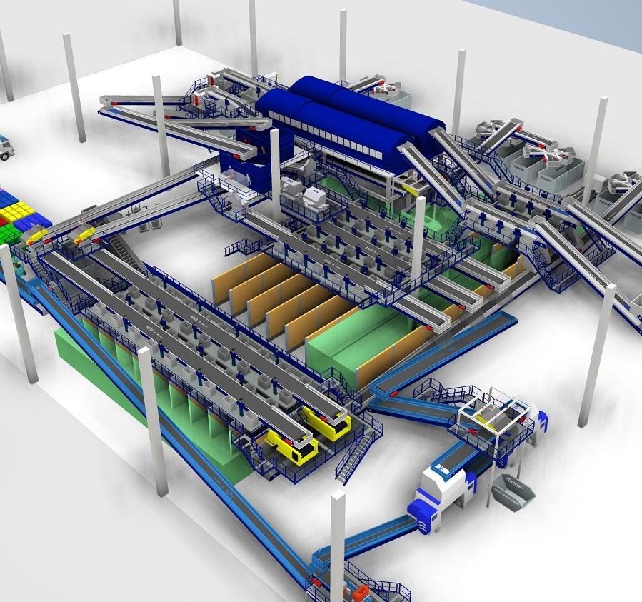 STADLER construirá la planta de clasificación mecánica de residuos más grande de Brasil