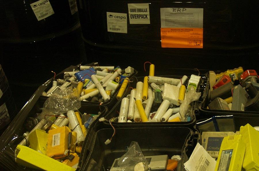 Pilas y baterías para reciclar