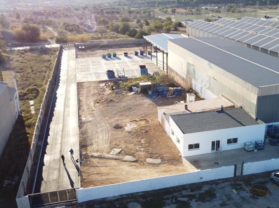 Nueva planta de residuos industriales en Buñol