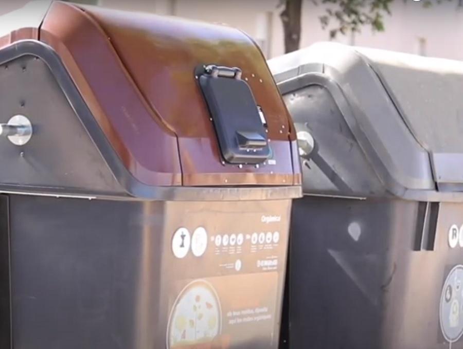 Nuevos contenedores de materia orgánica en Palma