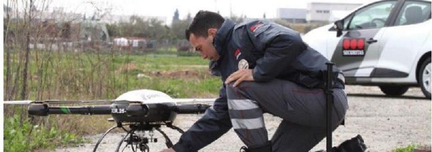 Sogama incorpora drones para la vigilancia de sus instalaciones de gestión de residuos