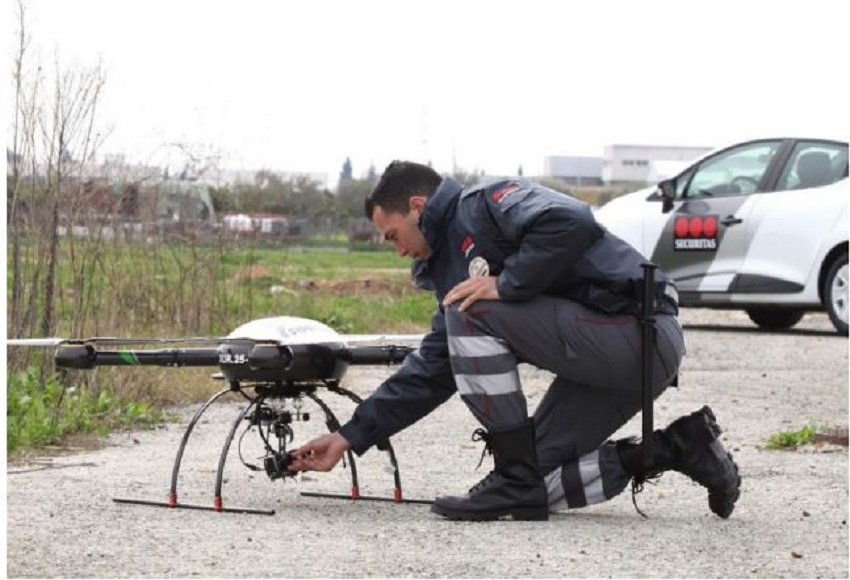 Drones vigilarán las instalaciones de Sogama