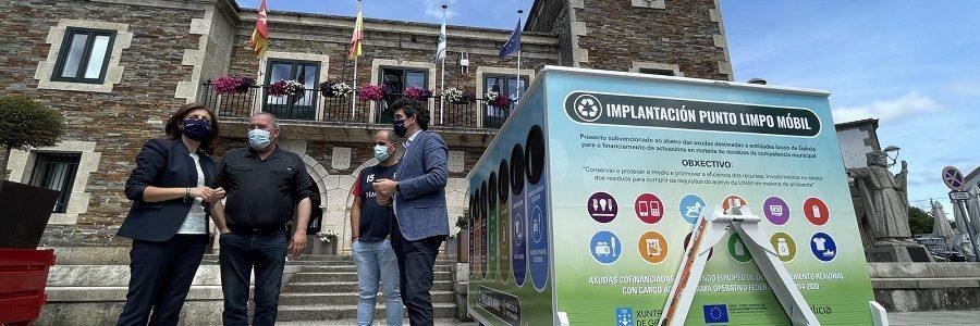 La Xunta convoca ayudas por 1,5 millones para la adquisición de puntos limpios móviles