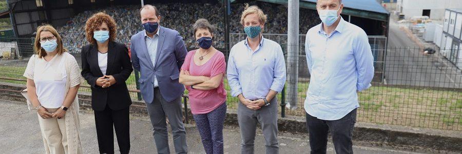 La Diputación de Huelva visita Sogama para conocer la gestión de los residuos en Galicia