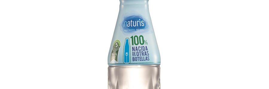 Lidl lanza una botella de agua fabricada con PET 100% reciclado