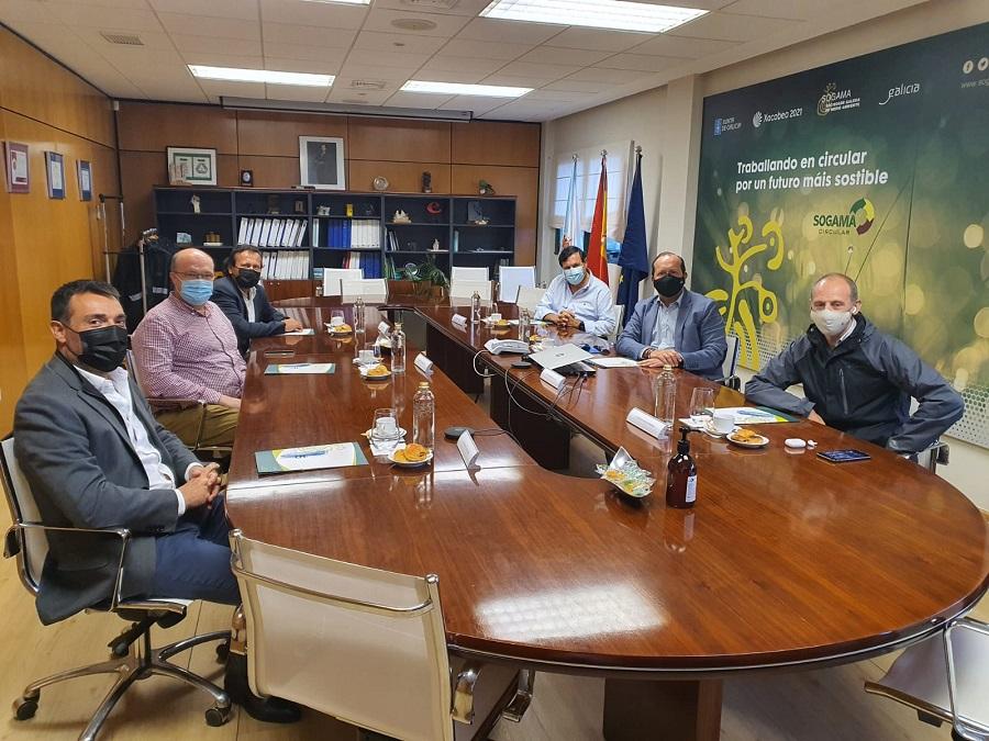 Visita del Consorcio de Residuos del Maresme a Sogama