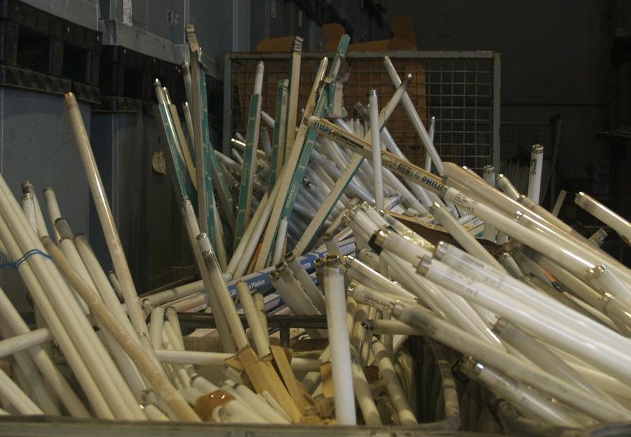 Ecolum recicló 6.000 toneladas de residuos de iluminación en 2020