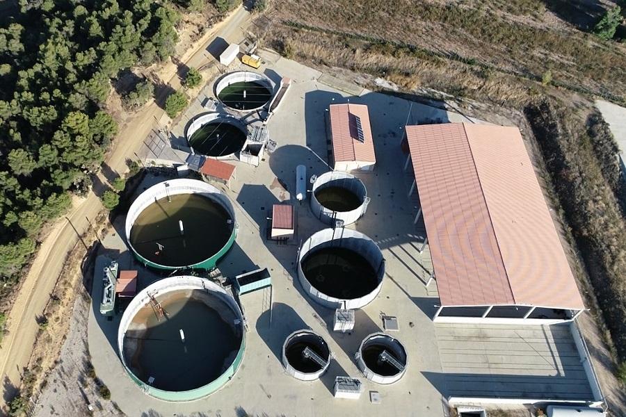 Planta de biogás de Valderrobles (Teruel)